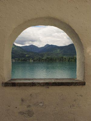 Serie: Wolfgangsee - Blick auf den See
