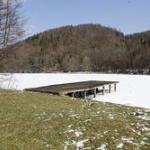 Winterlandschaft am Thalersee bei Graz