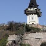 Der Uhrturm, das Grazer Wahrzeichen
